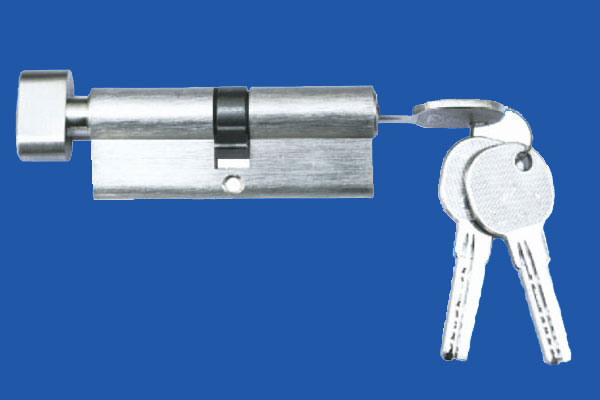 Cylinder with key