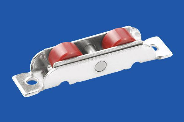 Nylon Double Flat Roller